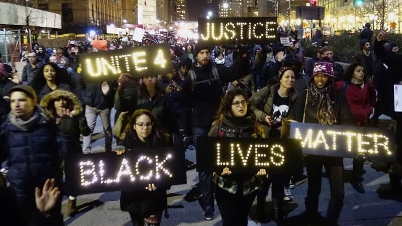 ประท้วง Black Lives Matter