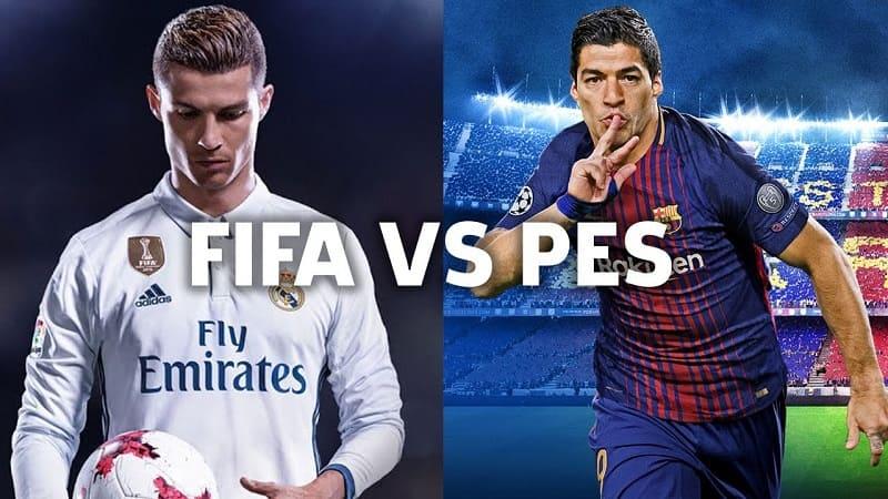 hd football pes vs fifa