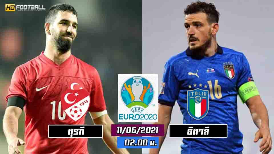 วิเคราะห์บอลยูโร 2021 ตุรกี vs อิตาลี