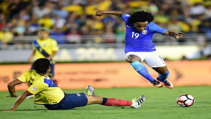 บราซิล vs เอกวาดอร์ ดูบอล